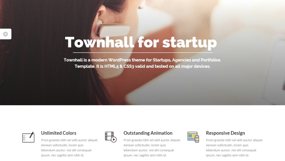 Startup WordPress Themes that need your Attention